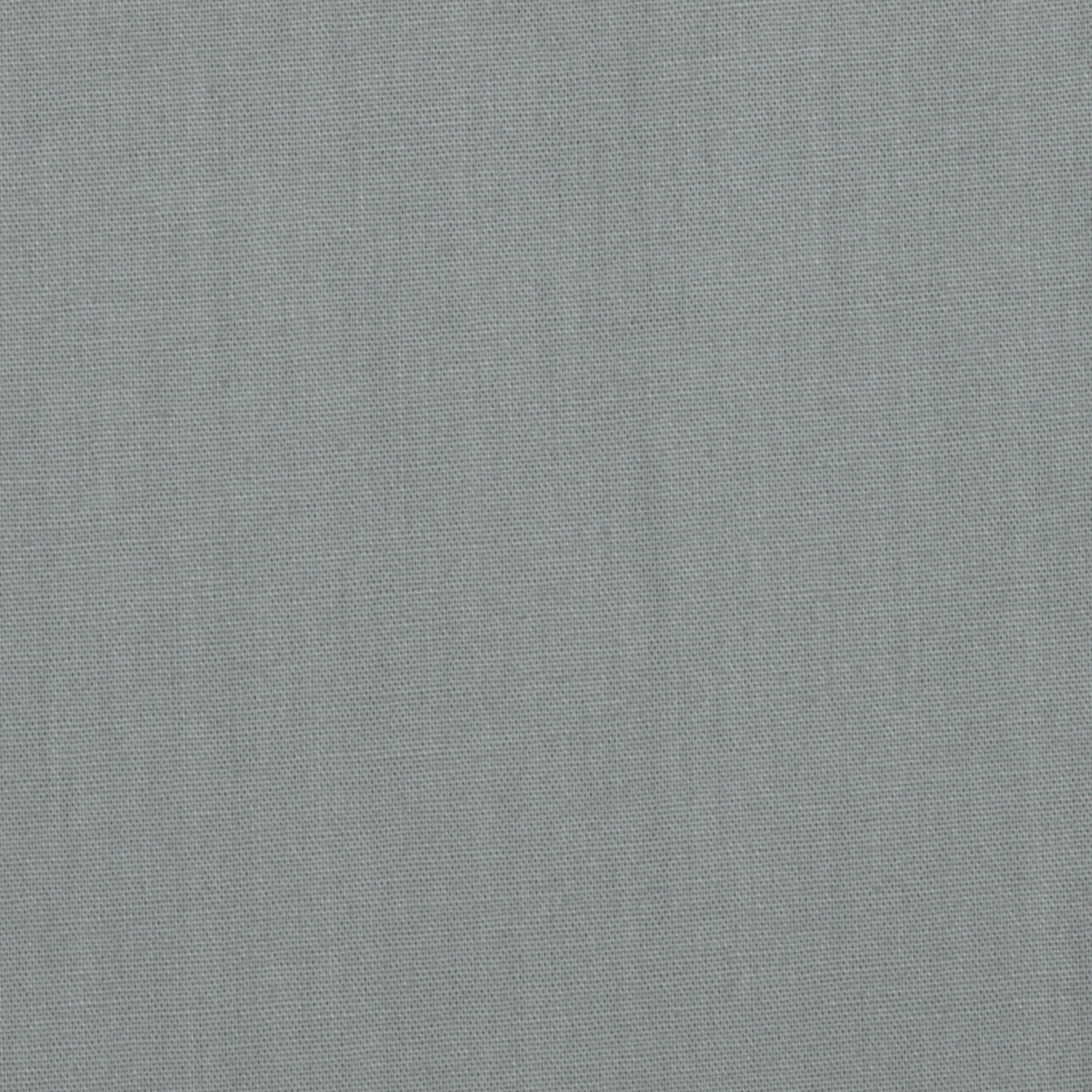 Pure Organic Solid Grey Fabric