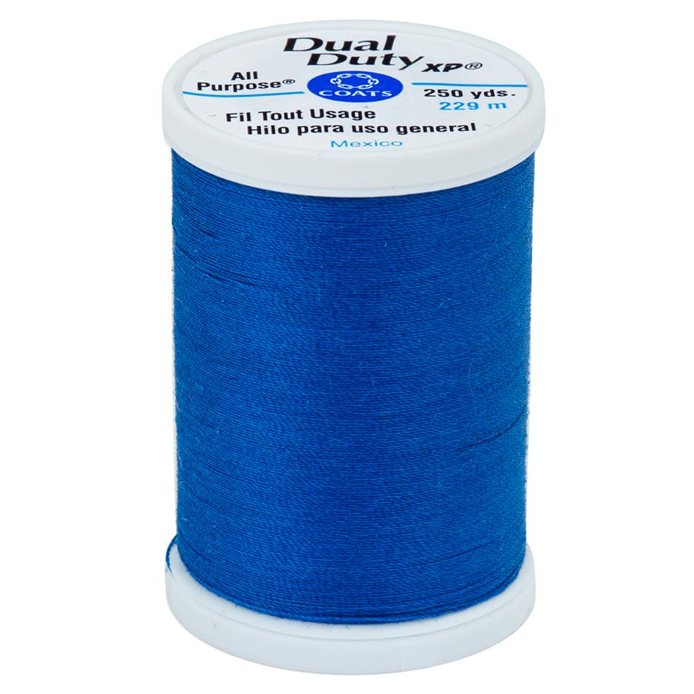 Coats & Clark Dual Duty XP 250yd Global Blue