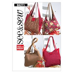 Butterick Handbags Pattern B4271 Size 0A0