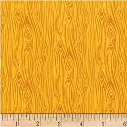 Michael Miller Tools Of The Trade Just Wood Knot Yellow