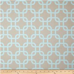 Premier Prints Gotcha Twill Powder Blue/Taupe Fabric