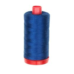 Aurifil 12wt Embellishment and Sashiko Dreams Thread Medium Delft Blue