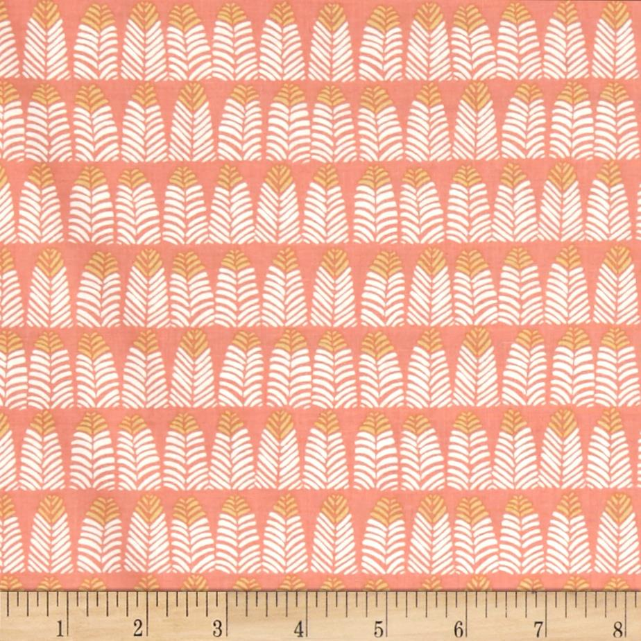 Dear Stella Trail Mix Feathers Coral