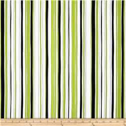 Kanvas Tempo Poppy Stripe Lime