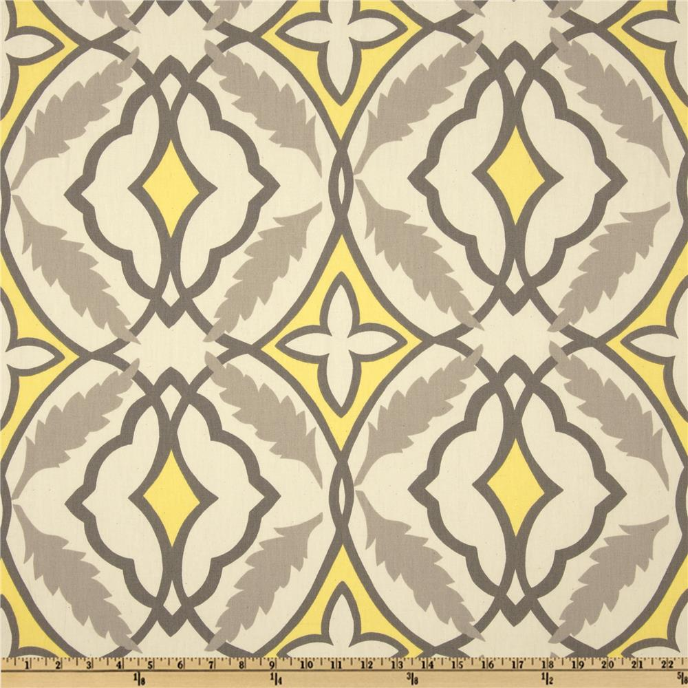 Premier Prints Sheeting Eden Lemon/Natural