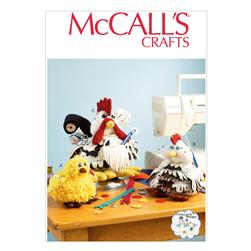 McCall's Sewing Organizers and Pin Cushions Pattern M6937