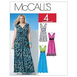 McCall's Misses'/Women's Dress In 3 Lengths Pattern M6073 Size B50