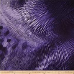 Electric Feather Violet Fabric
