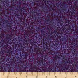 Bedfordshire Damask Purple