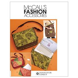 McCall's Bags and Laptop Cover Pattern M5824 Size OSZ