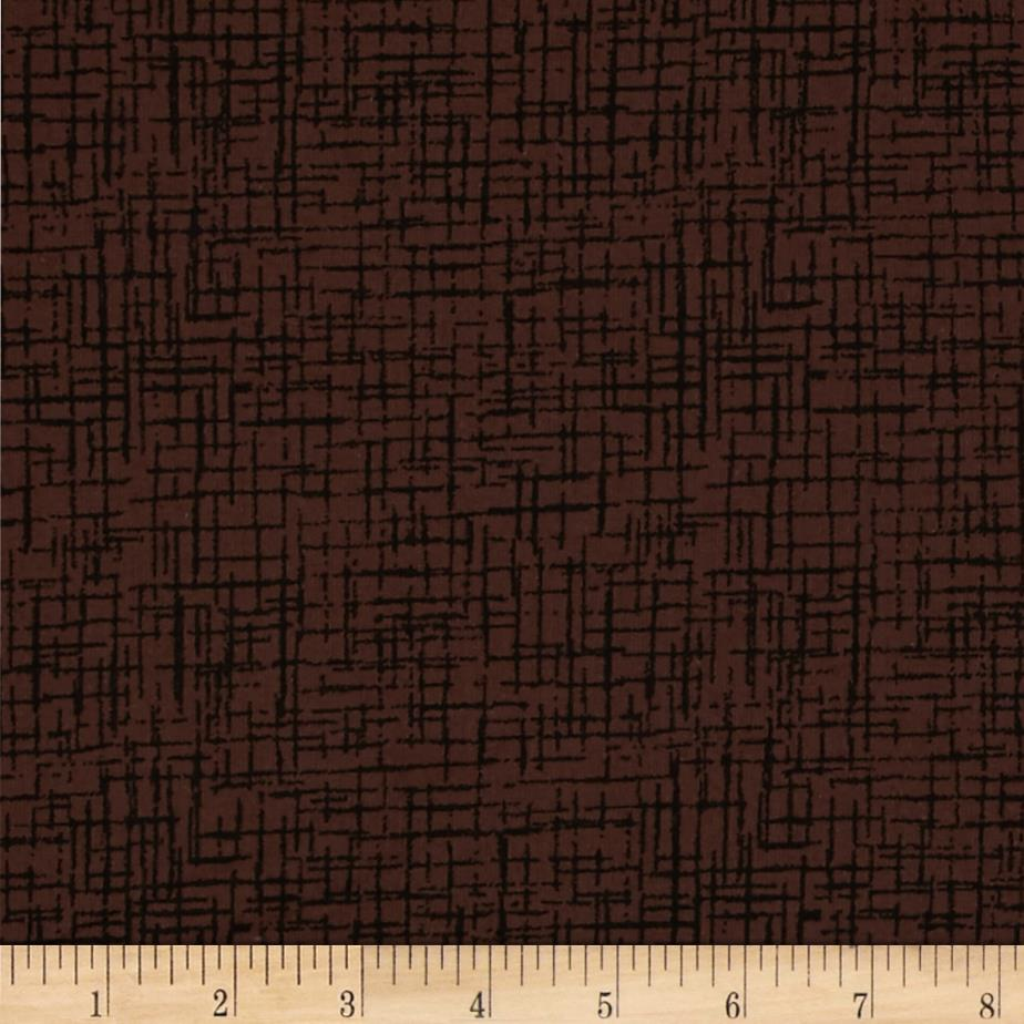 110 In. Wide Quilt Back Betula Chocolate