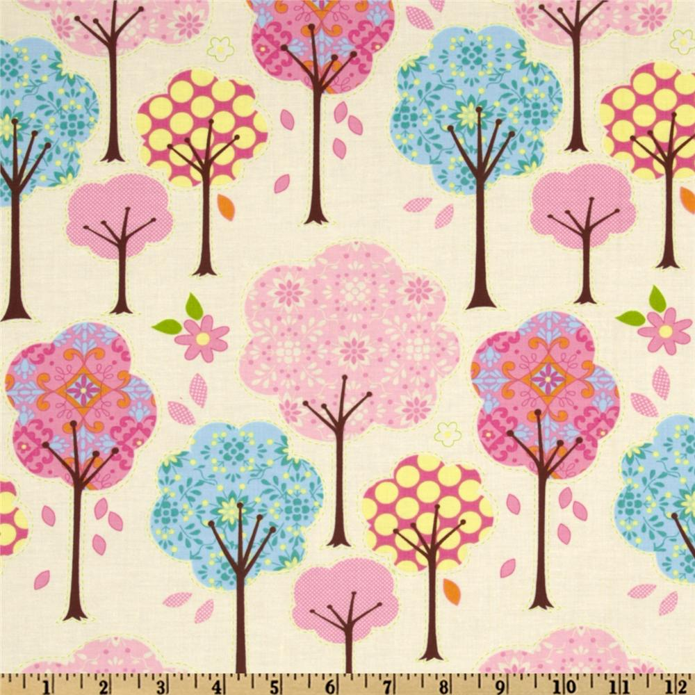 Pretty Little Things Trees Cream