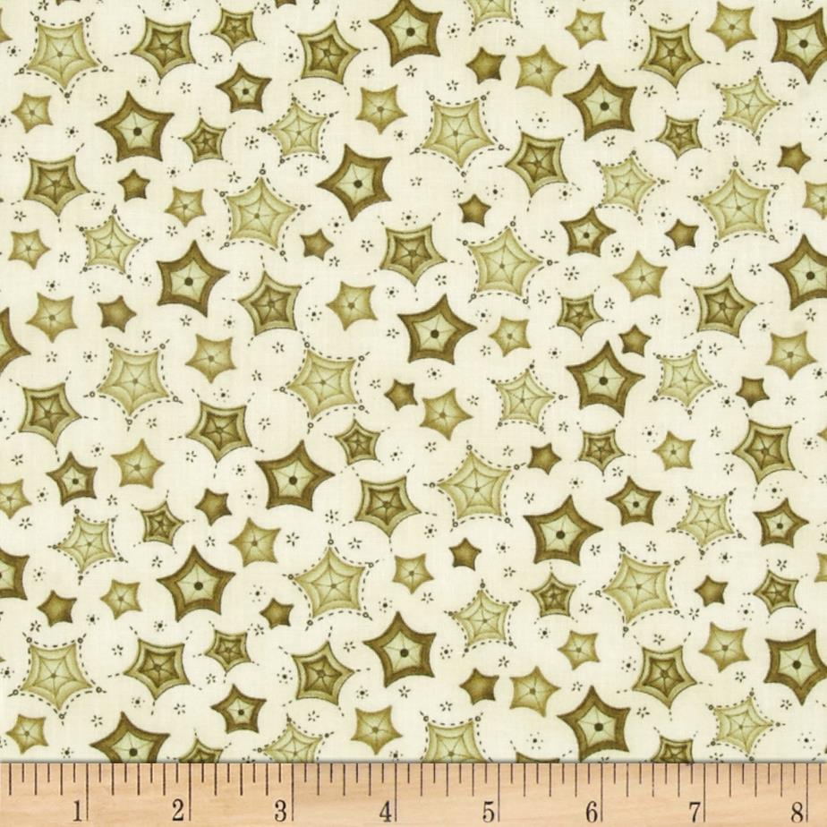 Sew Nice to be Home Spiderweb Light Green