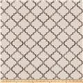 Fabricut Over Bet Linen Blend Canvas Grey