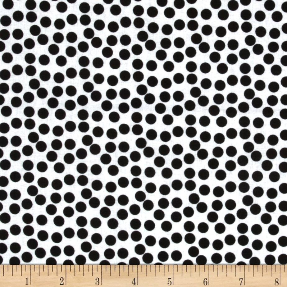 Dots Black/White