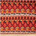 Viva Hatchi Sweater Knit Tribal Rust