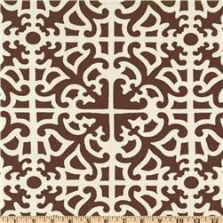 Waverly Parterre Damask Walnut