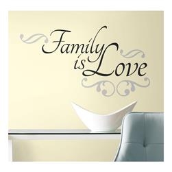 Family Is Love Wall Decals