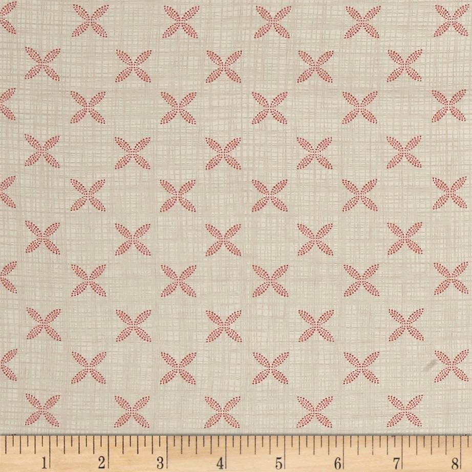 Moda Bayberry Tile Cloud/Blossom