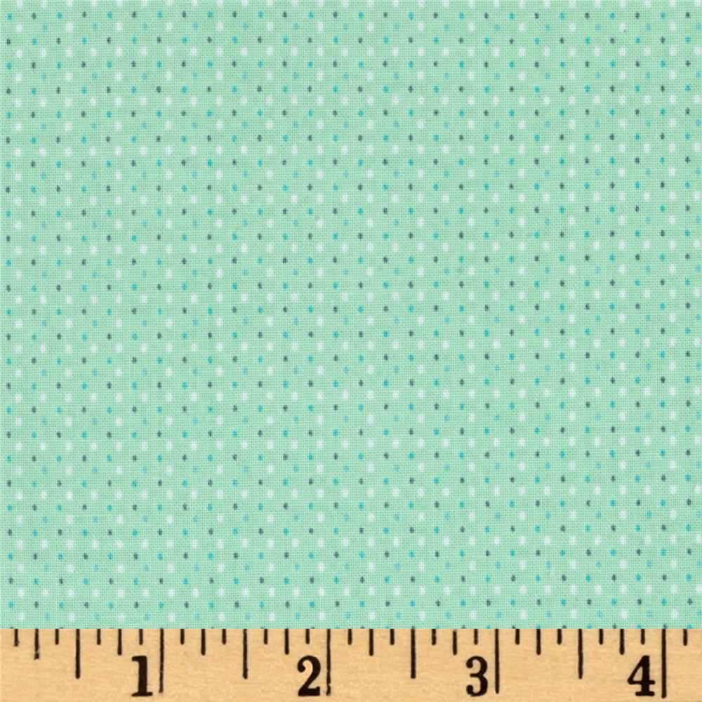 Koala Party Dot Mint Green