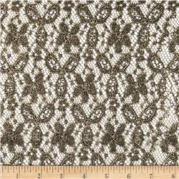 Mystere Lace Gold Fabric