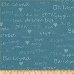 Giggle & Grow Text Blue
