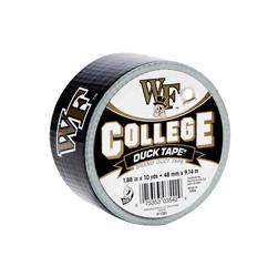 "College Logo Duck Tape 1.88"" x 10yd-Wake Forest"