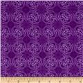 Treasures of Nature Under the Sea Geo Tonal Purple