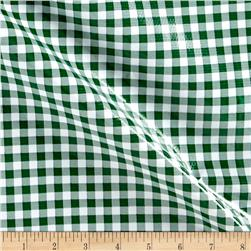Oil Cloth Gingham Kelly Green
