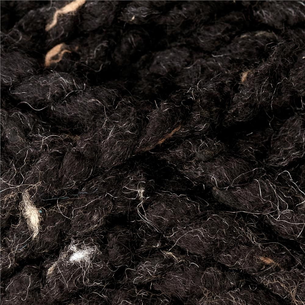 Premier Mega Tweed Super Bulky Yarn 03 Black Tweed