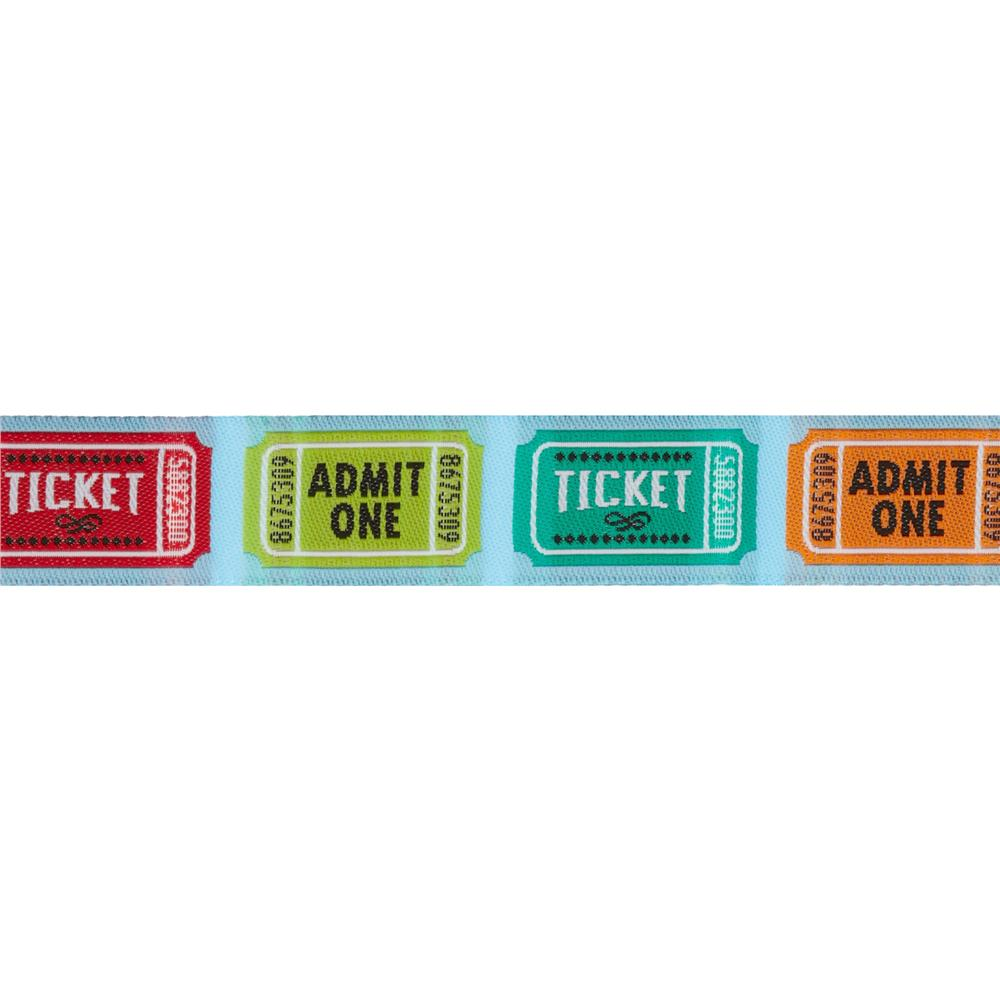 Jessica Jones Tickets Woven Ribbon Turquoise