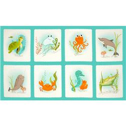Kaufman Aquatic Friends Sea Life Blocks 24