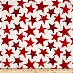Marblehead Valor Large Stars Red/White