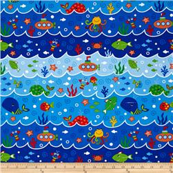 Oceans Of Fun Ocean Scene Blue