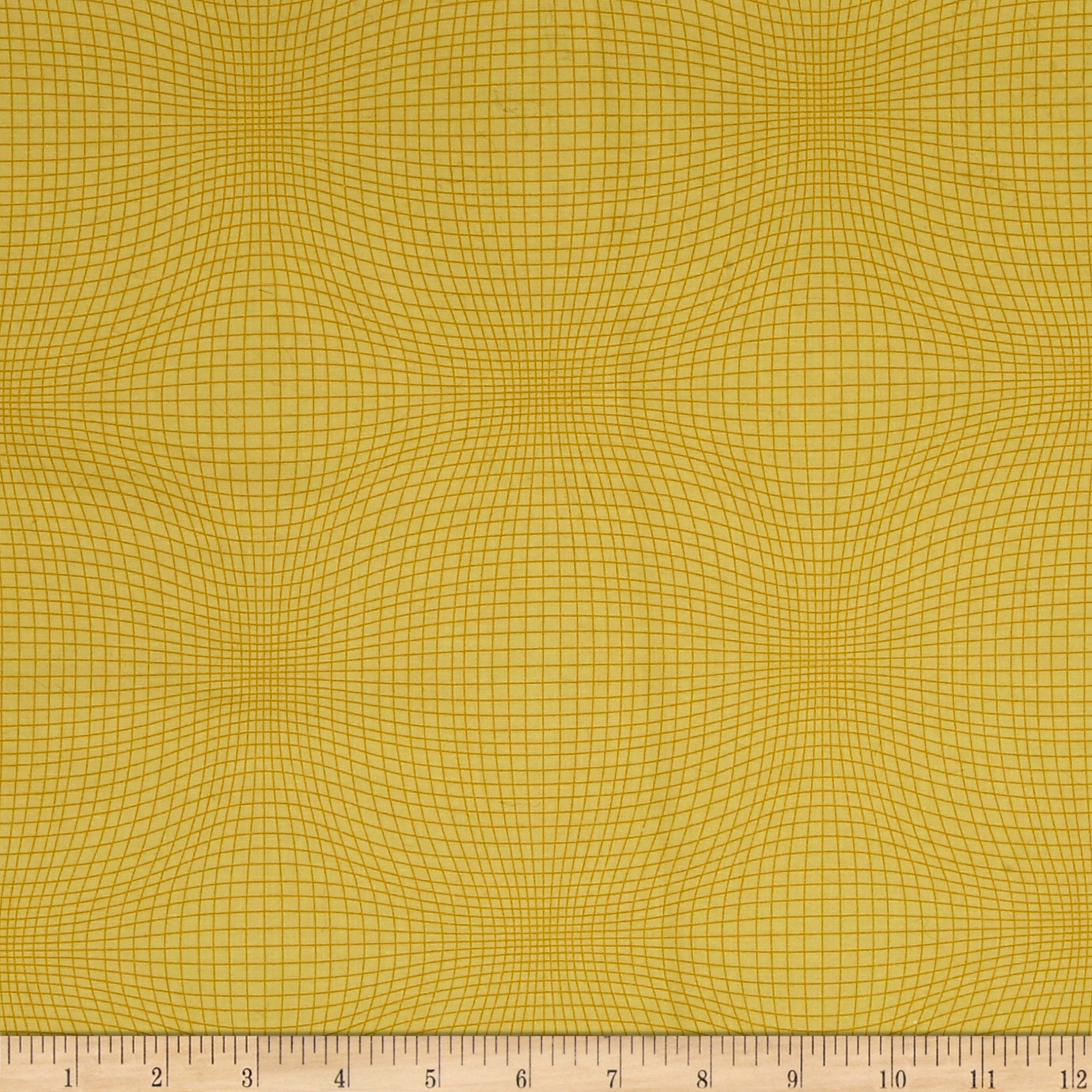 Measure_Wavy_Grid_Gold_Fabric