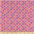 Baby Talk Hearts Bright Pink/Multi