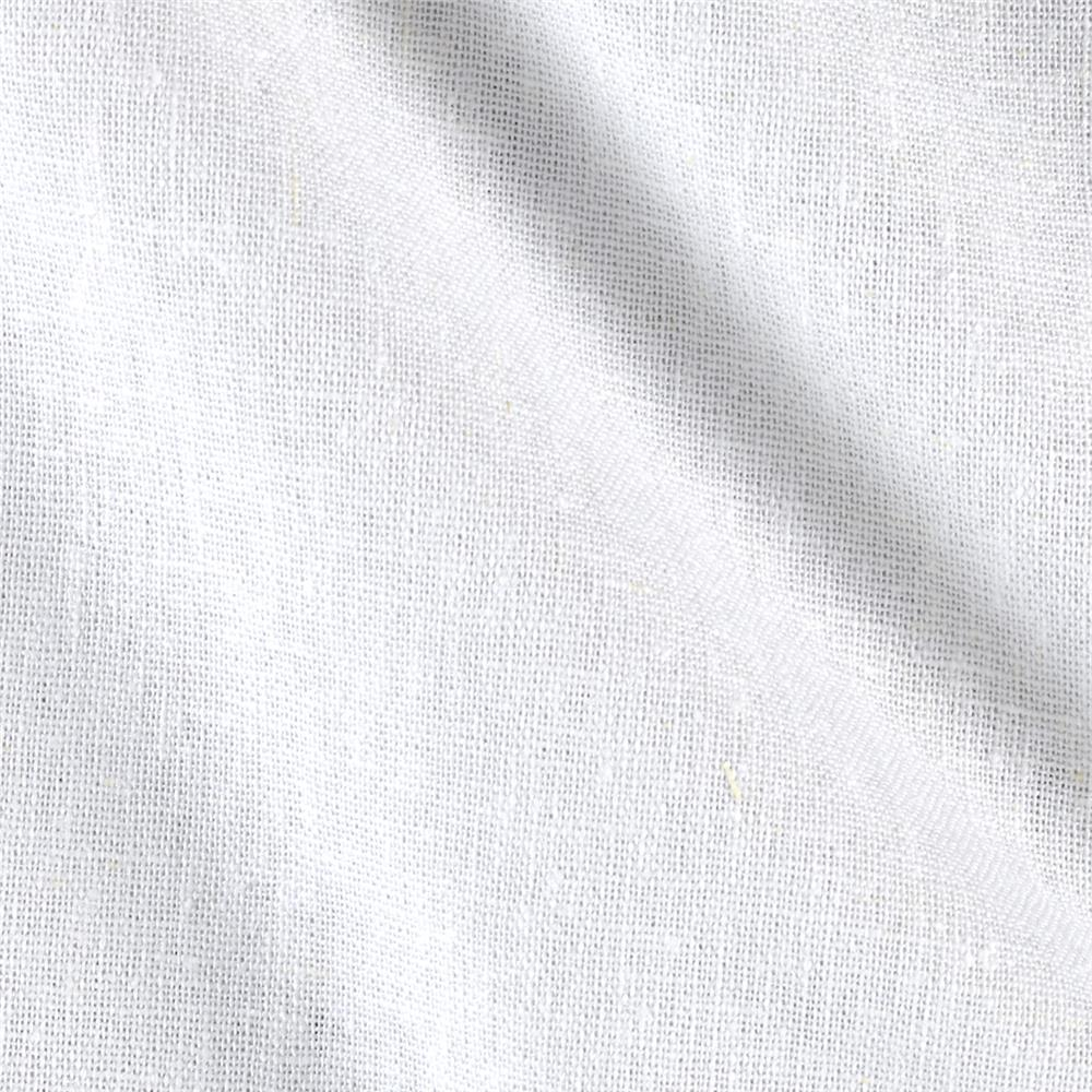 Rayon Linen Blend White Fabric By The Yard