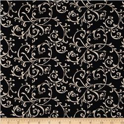 Jardin De Provence Scroll Black