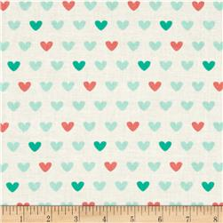 Jungly Hearts Aqua