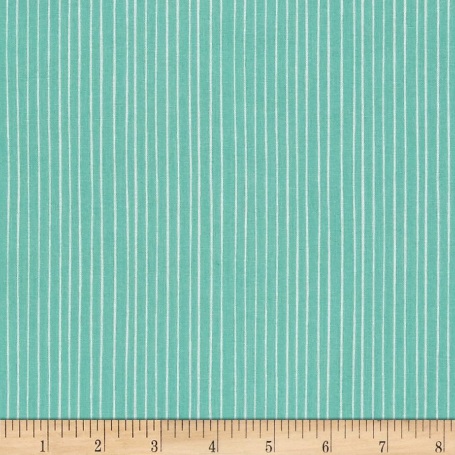 Meadow stripe turquoise discount designer fabric for Fabric purchase