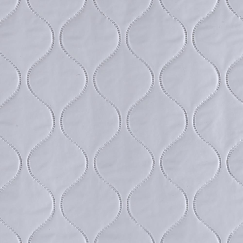 Quilted Vinyl Pale Blue