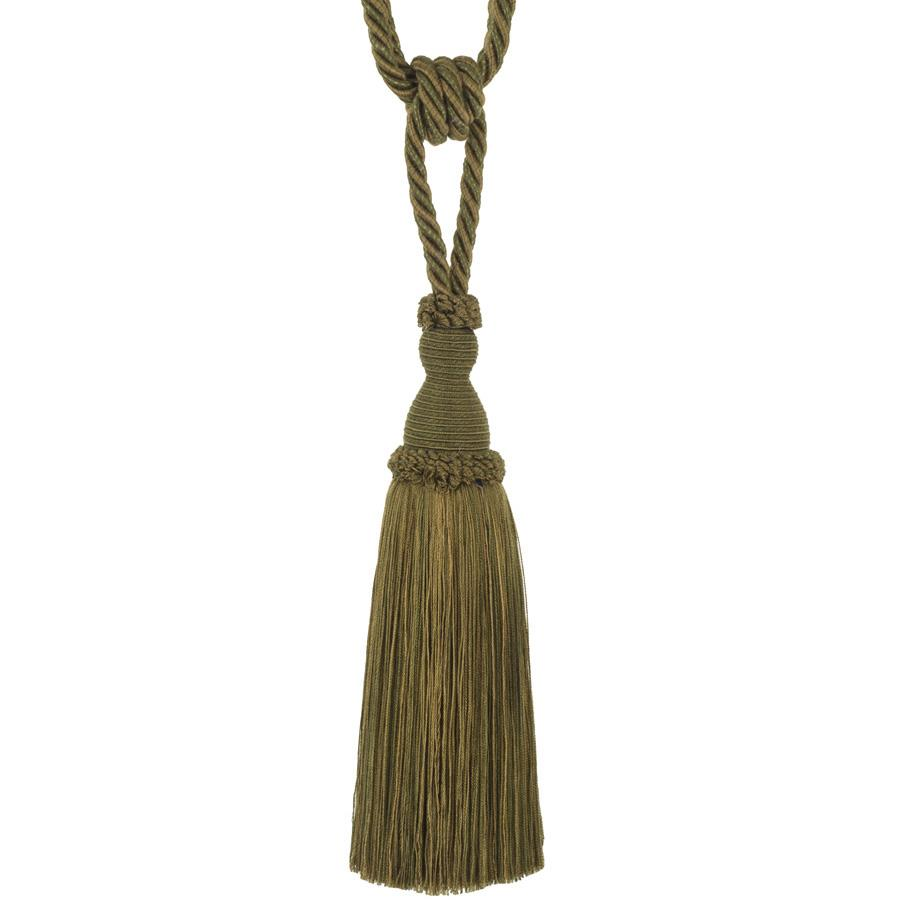 "Trend 29"" 02871 Single Tassel Tieback Ivy"