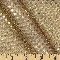 Cha Cha Metallic Sequin Knit Black/Gold