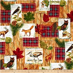 Fall Retreat Patches Ecru