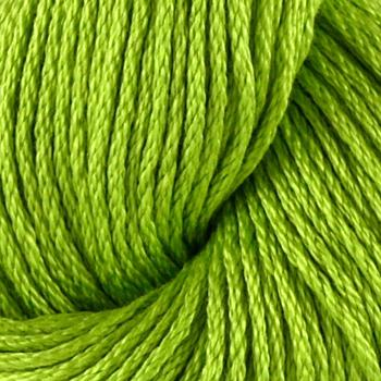 Tahki Cotton Classic Yarn (3726) Bright Lime Green