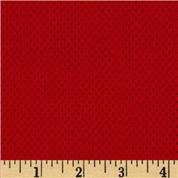 Stretch Athletic Nylon Mesh Knit Red