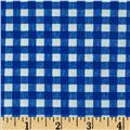 Basic Training Gingham Royal/White