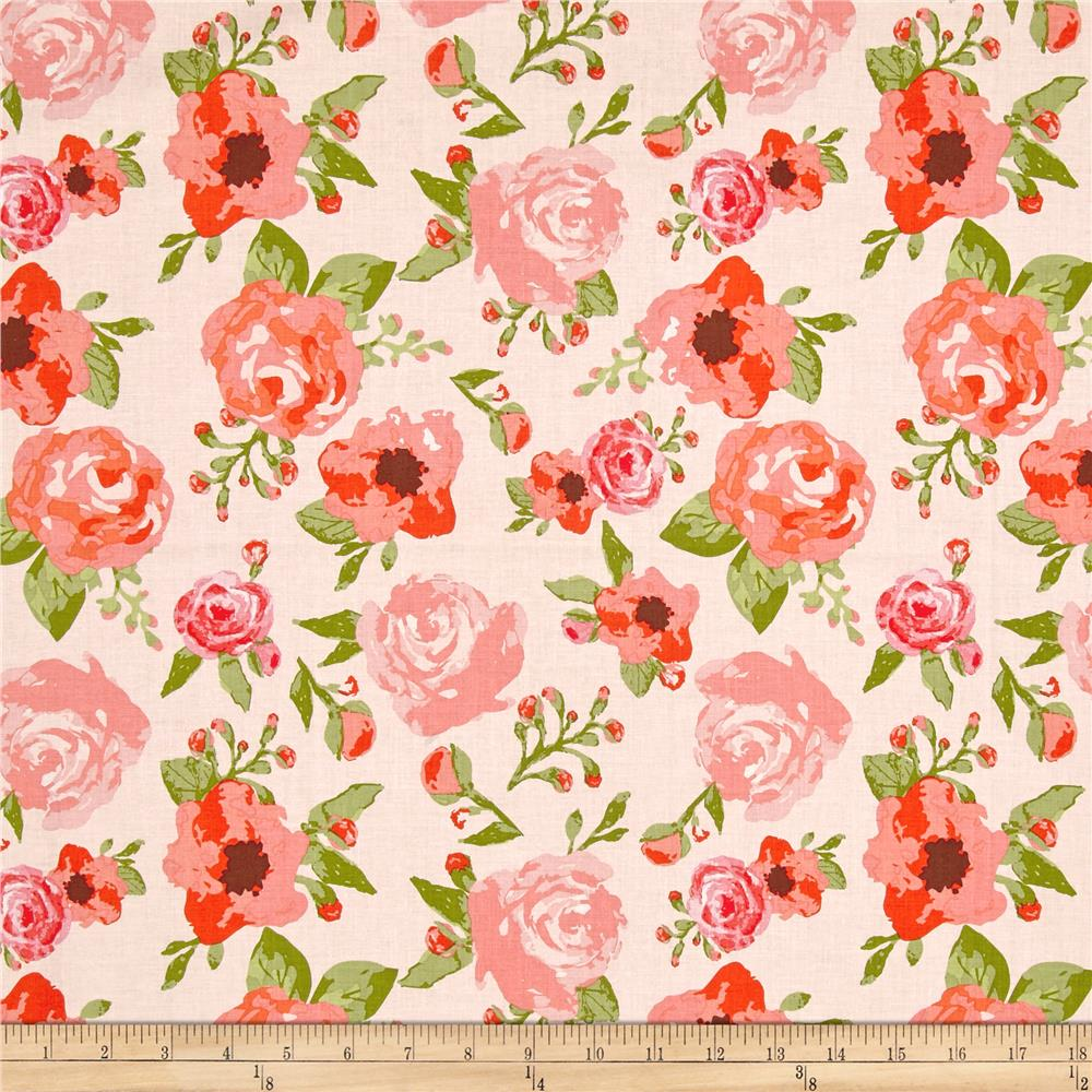 Riley Blake Rustic Elegance Main Peach