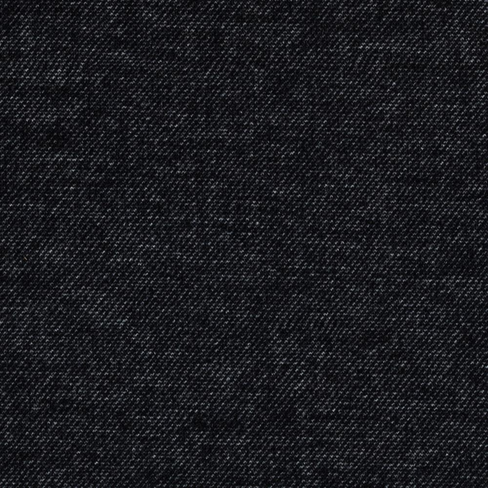 Telio bailey knit black discount designer fabric for Black fabric
