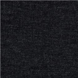 Bailey Stretch Double Knit Heather Black Fabric